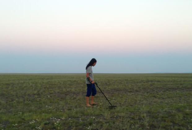 Китайский искатель метеоритов Чжанг Бо
