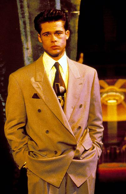 Брэд Питт в 1992 году