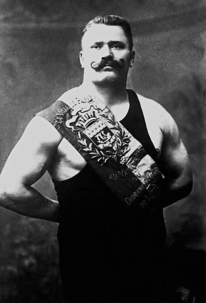 Русский профессиональный борец и атлет Иван Поддубный