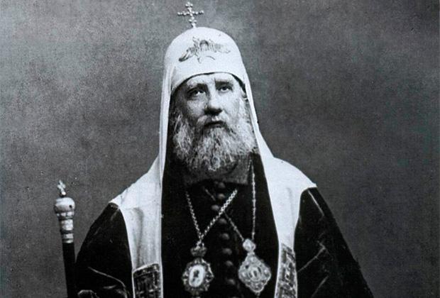 Патриарх Московский и всея России Тихон был прославлен в лике святых Архиерейским собором Русской православной церкви в октябре 1989 года