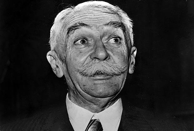 Основатель международного Олимпийского движения барон Пьер де Кубертен
